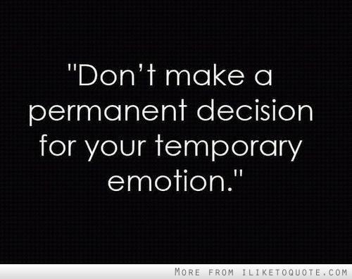 Decision quote